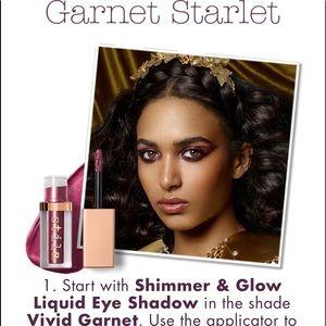 Stila liquid eyeshadow in Vivid Garnet